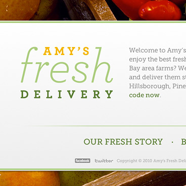 amys fresh delivery logo